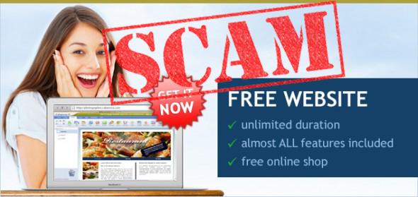 Free Website Scam
